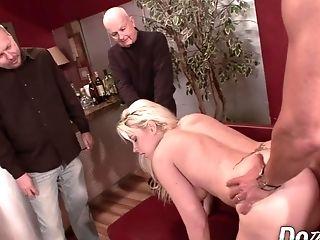 Blonde Wifey Assfucked As Cuck Sees