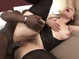 Lusty Big Jugged And A Bit Chubby Cheating Housewife Takes Big Black Cock In Her Twat