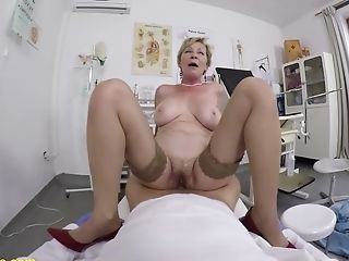 Hairy 71 Years Old Mom Point Of View Fucked By Her Medic