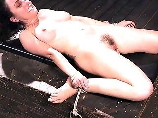 Nerdy Nubile Fuckslut Roxanne Rae Gonzo Manhandled In Restraint Bondage