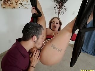 Chubby Blonde Latina Cougar Eva Notty Gets Fucked Hard On A Wag