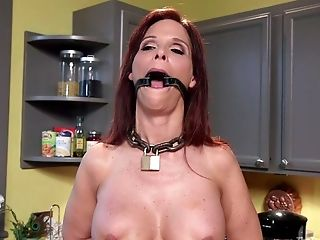 There Is Nothing Nicer For Syren De Mer Than A Sadism & Masochism In The Kitchen