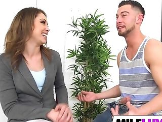 Amzing Mummy Lola Vaughn Gets Fucked