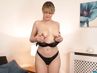 Wench In Sexy Undergarments Brook Little Gets Naked In Hot Taunting Flick