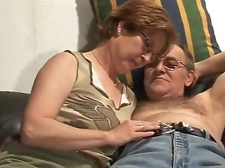Hot Matures And Her Older Beau Cant Wait To Let The World See Them Fuck!