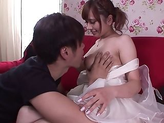 Haruna Kitano Gets Her Hairy Cunt Fucked While Her Big Tits Bounce