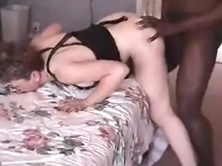 Hot Granny Suck Black Bull Dick And Get Hard Fucked And Hubby Observe