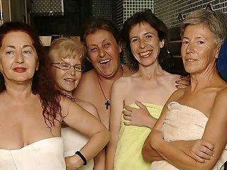 Ever Take A Peek In An All Female Matures Sauna