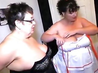 Two Fat Elderly Lesbos Nurses