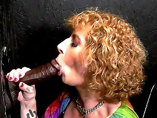 Curly Haired Matures Takes The Big Black Cock For A Wild Glory Fuck-hole Round