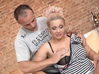 Inexperienced Movie Of Matures Blonde Chick Getting Fucked Ball Sack Deep