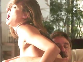 Smallish-tittied Chick Likes To Cheat On Hubby With An Older Paramour