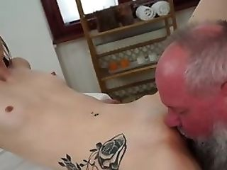 Nubile Tasted By Old Perv