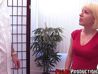 Pervy Medic Fucks Mouth And Anal Invasion Fuckhole Of Slender Platinum-blonde Patient Sara Jolie