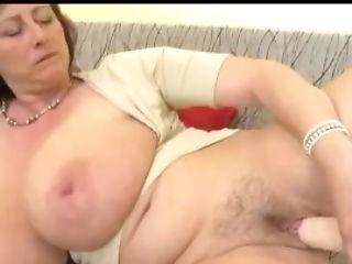 Fat Tit Ivana Gita Loves Her Wand