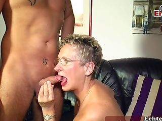 German Matures Mom Fucks  Boy